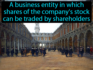 Joint Stock Company Definition Flashcard