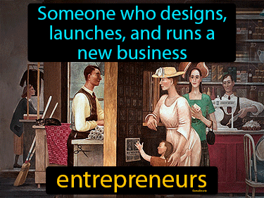Entrepreneurs Definition Flashcard