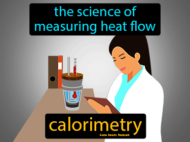 Calorimetry Definition Flashcard