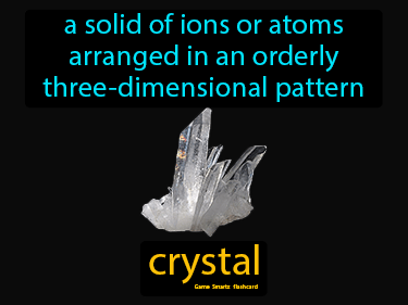 Crystal Science Definition