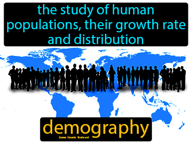 Demography Science Definition