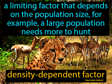 Density Dependent Factor Science Definition