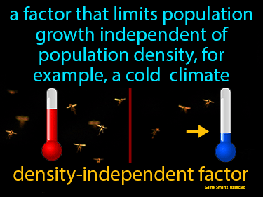 Density Independent Factor Science Definition