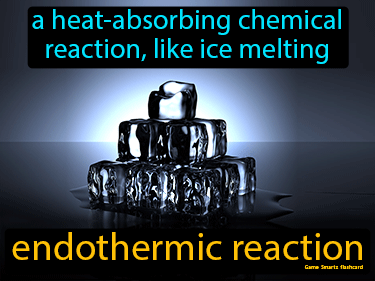 Endothermic Reaction Definition Flashcard