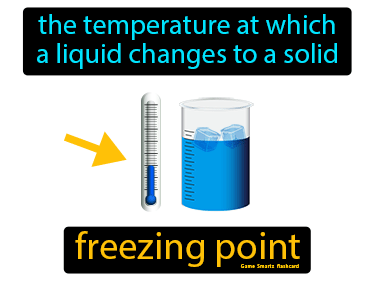 Freezing Point Science Definition