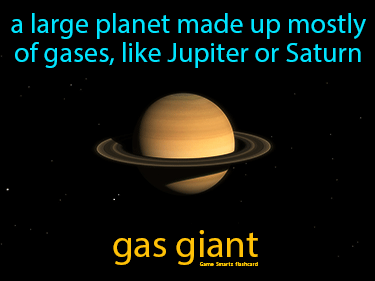 Gas Giant Science Definition