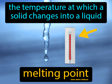Melting Point Science Definition