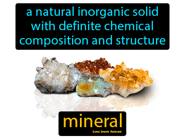 Mineral Science Definition