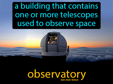 Observatory Science Definition