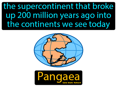 Pangaea Science Definition