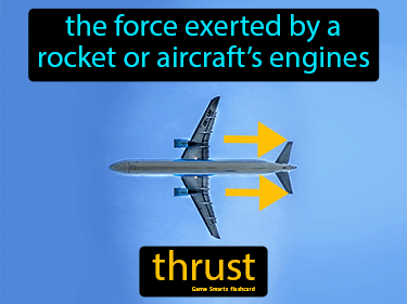 Thrust Science Definition