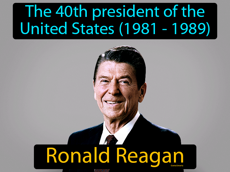 Ronald Reagan with Definition