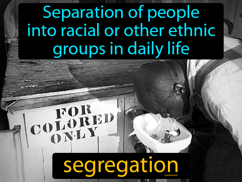 Segregation with Definition