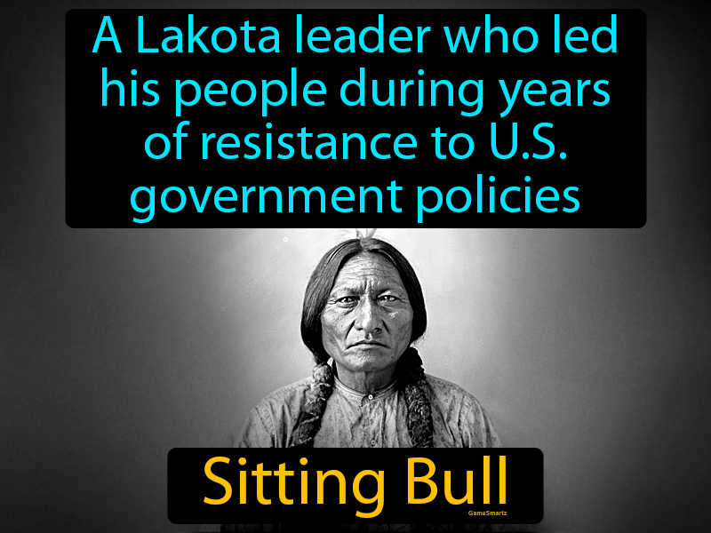 Sitting Bull: A Lakota leader who led his people during years of resistance to US government policies.