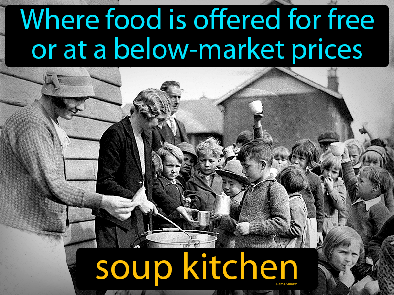 Soup Kitchen Easy History