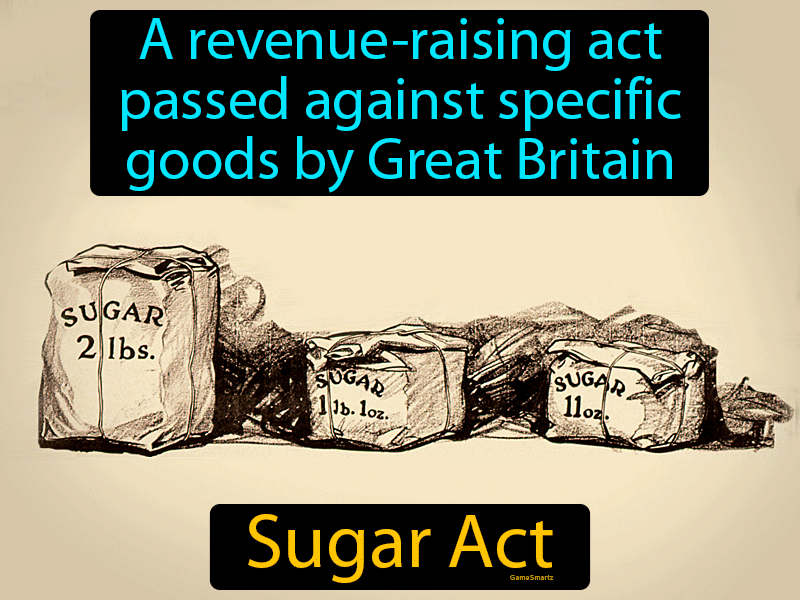 Sugar Act with Definition