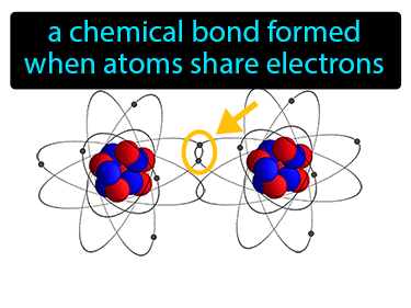Covalent Bond Definition Flashcard