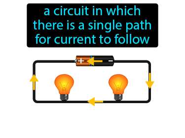 Series Circuit Definition Flashcard
