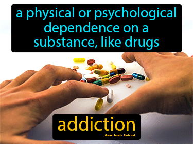 Addiction Definition Flashcard