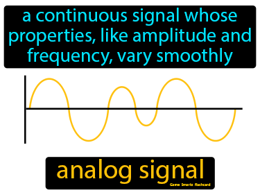 Analog Signal Science Definition