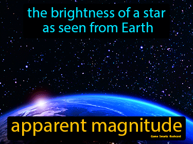Apparent Magnitude Science Definition