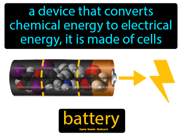 Battery Science Definition