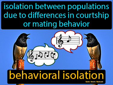 Behavioral Isolation Definition Flashcard