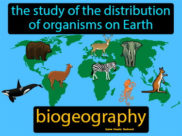 Biogeography Science Definition