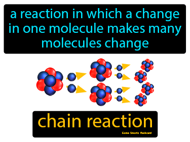 Chain Reaction Science Definition