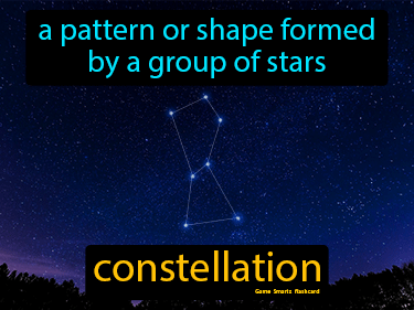 Constellation Definition Flashcard