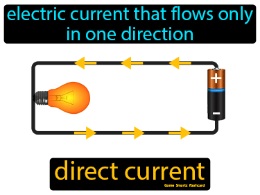 Direct Current Definition Flashcard