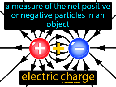 Electric Charge Definition Flashcard