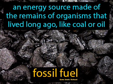 Fossil Fuel Science Definition