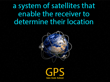 GPS Definition Flashcard