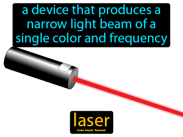 Laser Definition Flashcard