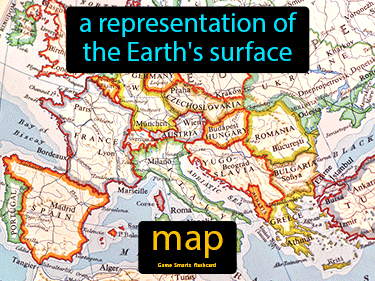 Map Definition Flashcard