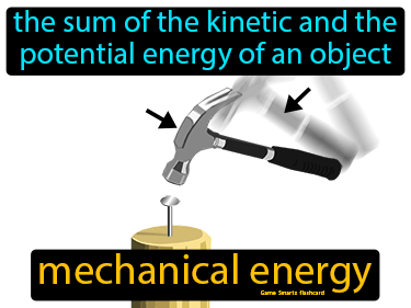 Mechanical Energy Science Definition