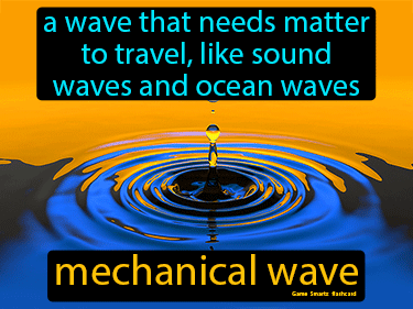 Mechanical Wave Science Definition