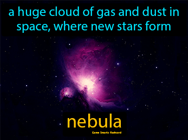 Nebula Science Definition