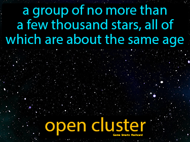 Open Cluster Science Definition