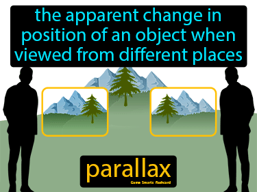 Parallax Science Definition