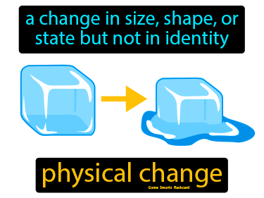 Physical Change Science Definition