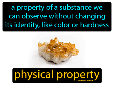 Physical Property Definition Flashcard