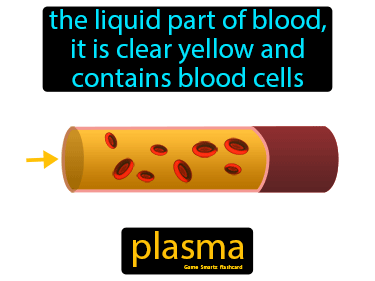 Plasma Definition Flashcard