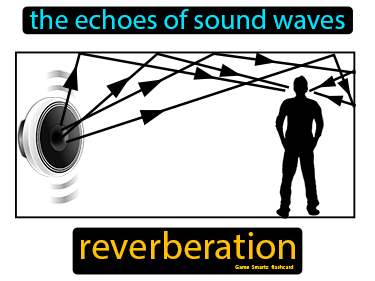 Reverberation Definition Flashcard