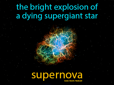 Supernova Science Definition