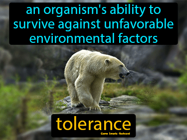 Tolerance Science Definition