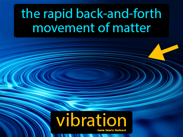 Vibration Definition Flashcard