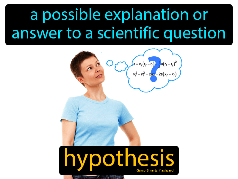 Hypothesis Definition: A possible explanation or answer to a scientific question. Physical Science