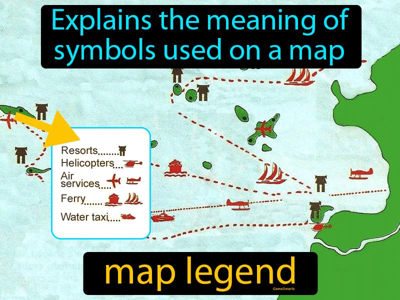 Map Legend - Definition (Image) - Game Smartz Science